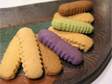 Sea Salt Cookies in Sweet Potato,Ginger,Butter Flavour