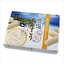 Sea Salt Milk Cookies